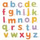 €12,99 Bigjigs magneetletters magneet 'kleine' letters