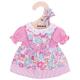 Bigjigs roze bloemen jurk (S) Pink Floral Dress - Small bloemenjurk poppenkleren poppenkleding kleertjes pop