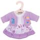 €7,99 Bigjigs paarse jurk met vestje (M) Lilac Dress and Cardigan Medium poppenkleren poppenkleding kleertjes pop