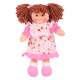 €11.89 Bigjigs stoffen pop Amy 28 cm popje stof lappen doll