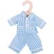 Bigjigs blauwe pyjama (S) poppenkleren poppenkleding kleertjes pop