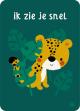 €1.25 Bora ansichtkaart Tijger Jungle - Ik zie je snel kaart wenskaart postkaart