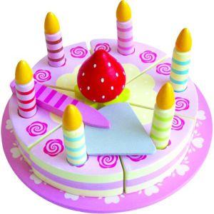 €11.99 Simply for kids houten snijtaart snij taart hout verjaardagstaart
