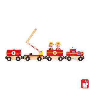 €14.99 Janod trein brandweer
