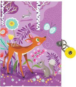 €7.99 Mudpuppy dagboek bosdieren forest diary
