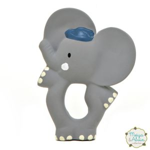 €11.99 Meiya & Alvin rubberen Olifant rubber bijtring Alvin Elephant Teether