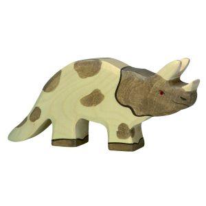 €11,49 Holztiger houten Triceratops dinosaurus hout