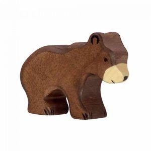 €8,99 Holztiger bruine beer 7 cm hout brown bear