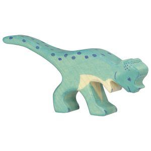 €9,95 Holztiger houten Pachycephalosaurus dinosaurus hout 14 cm