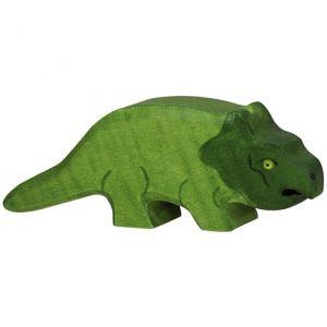 €7,95 Holztiger houten Protoceratops dinosaurus 10.5 cm
