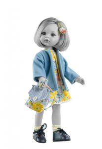 €19,95 Paola Reina kledingset poppenkleding poppenkleren Carla blauw/geel voor Amigas pop 32cm