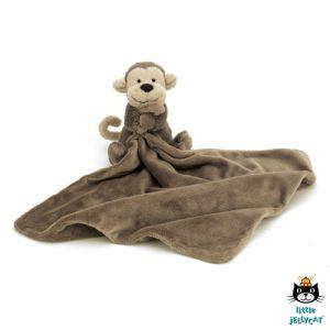€22.49 Jellycat bashful monkey knuffeldoek 33 cm