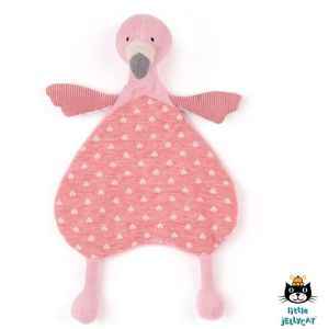 €17.95 Jellycat Flamingo knuffeldoekje 25cm (Lulu Flamingo Soother)