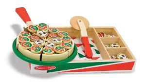 €18,99 Melissa & Doug houten snij pizza snijpizza hout