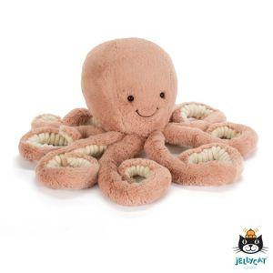 €27.95 Jellycat knuffel Odell Octopus little 23 cm