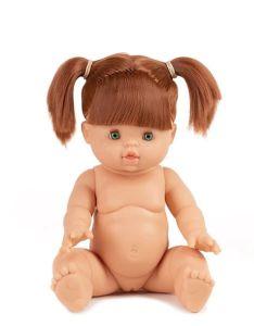 €31.49 Minikane / Paola Reina pop Gordi Gabrielle blank meisje met rode haren 34cm rood haar groene ogen