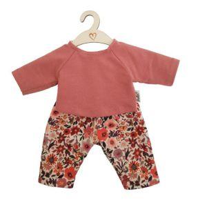 €17,95 Hollie kledingset shirt en broek Retro Flowers voor gordi 34cm Paola Reina / Minikane