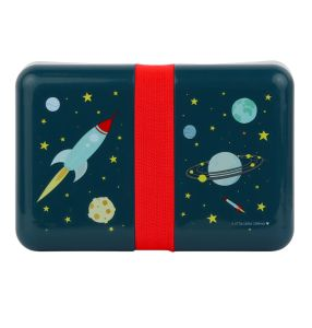 €8,79 A little lovely company lunchbox Ruimte / Space lunch box broodtrommel