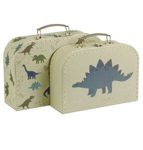 €23,89 A little lovely company kofferset Dinosaurus koffer koffers koffertjes