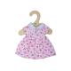 €7,49 Bigjigs jurk roze met hartjes (S) poppenkleding poppenkleren stoffen pop 28cm