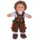 €11.19 Bigjigs stoffen pop Jack 28 cm lappen popje stof jongen draak