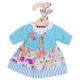 €7,49 Bigjigs turquoise jurk met vestje (S) Turquiouse Cardigan and Dress