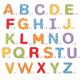 €12,99 Bigjigs houten magneet hoofdletters hout letter magneet hoofdletter