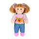 €14,99 Bigjigs stoffen pop Elsie 34 cm popje stof lappen meisjespop tuin garden