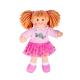 €11.25 Bigjigs stoffen pop Jasmin 28 cm popje stof lappen doll