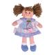 €11.89 Bigjigs stoffen pop Sarah 28 cm popje stof lappen doll