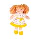 €11.89 Bigjigs stoffen pop Zoe 28 cm popje stof lappen meisjespop
