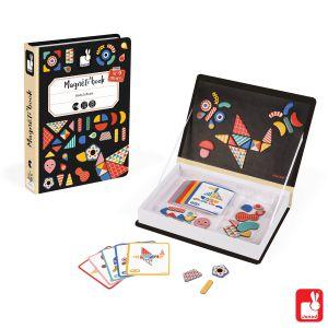 €19,89 Janod magnetibook moduloform patroon magnetenboek magneet boek magneten