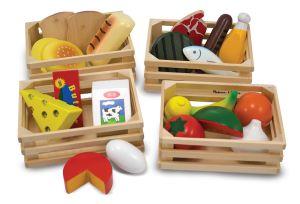 €19,49Melissa & Doug voedselkratten met houten inhoud voedsel eten hout