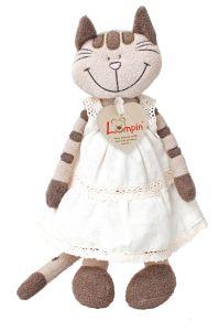 €9.99 Lumpin Angelique kat met jurk knuffel 26 cm