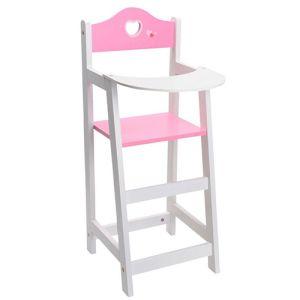 Poppen kinderstoel houten poppenstoel stoel pop hout