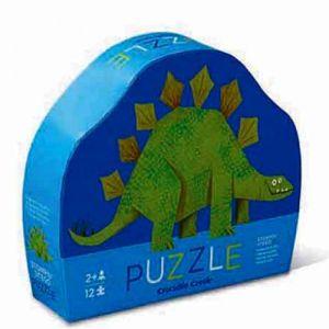 €9,95 Crocodile Creek mini puzzel dinosaurus Stegosaurus minipuzzel