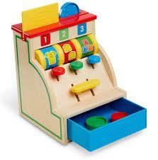 €22.99 Melissa & Doug houten kassa