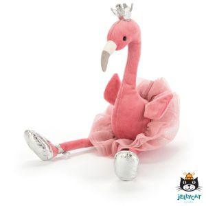 €25.49 Jellycat ballerina dansende Flamingo knuffel 33cm (Fancy Flamingo)