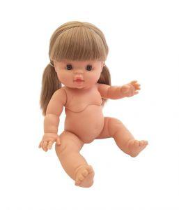 €27,95 Paola Reina pop blond haar in staartjes 34cm babypop