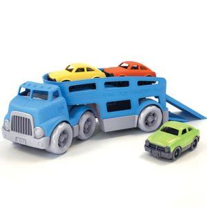 €28,95 Green Toys vrachtwagen met oplegger transporter