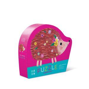 Crocodile Creek mini puzzel Happy Hedgehog 12 stukjes
