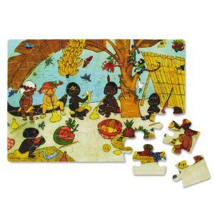 Pippi Langkous houten puzzel 30 stukjes