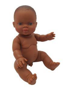Minikane / Paola Reina pop Gordi donkere jongen blauwe ogen 34cm