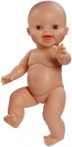 €14.89 Paola Reina pop Gordi lachend meisje 34 cm babypop minikane