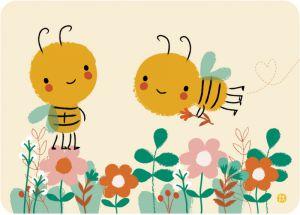 €1.25 Bora ansichtkaart wenskaart postkaart kaart Save the Bees bijen