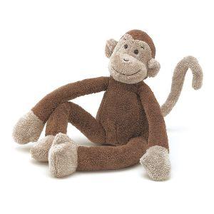 €21.95 jellycat knuffelaap knuffel aap slackajack monkey 33 cm