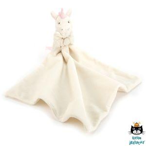 €19.99 Jellycat Unicorn knuffeldoek eenhoorn soother kraamcadeau