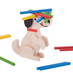 €12,49 Bigjigs houten stapel spel hond hout Stack a Stick Game