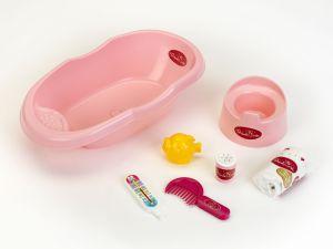 €12,99 poppenbad met teobehoren bad badje pop